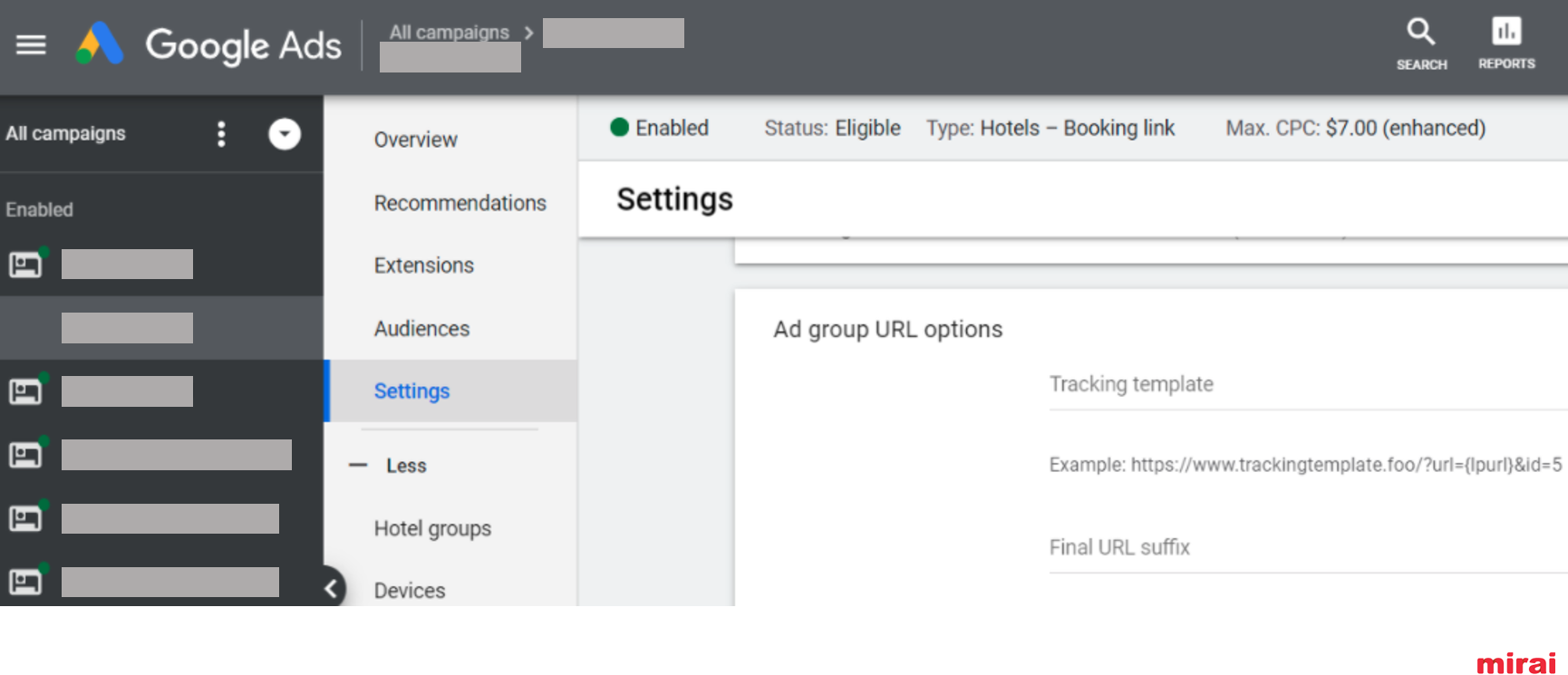 Monitor your performance in Google Hotel Ads - Mirai
